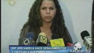 getlinkyoutube.com-Iris Varela renuncia y critica al PSUV - Pide respeto a resultado electoral