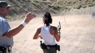 getlinkyoutube.com-Michelle Viscusi Shooting Her Glock 34 9mm