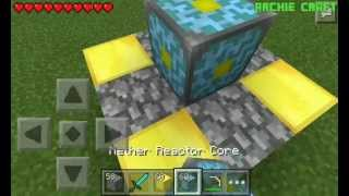 getlinkyoutube.com-Cara bikin nether reactor|Minecraft PE Indonesia