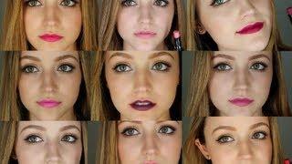 getlinkyoutube.com-Wet n Wild Mega Last Lipsticks Review/Lip Swatches