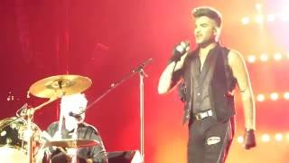 getlinkyoutube.com-Queen + Adam Lambert - Under Pressure - Singapore F1 GP, 17 Sep'16
