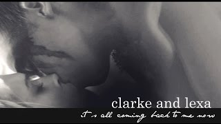 getlinkyoutube.com-Clarke + Lexa || It's all coming back to me now ||