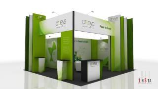 getlinkyoutube.com-3 in 1 Exhibition Stand Design Ideas using Creeya™ Custom Modular Exhibition Stand
