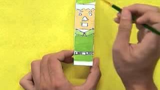 getlinkyoutube.com-สอนศิลป์ตอนที่88 ตุ๊กตากระโดดร่ม