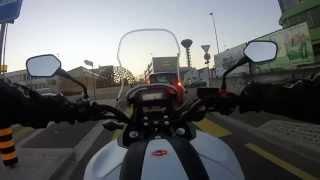 getlinkyoutube.com-Honda NC 750X quick Ride (GoPro Hero Test)