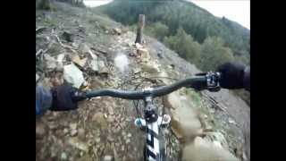 getlinkyoutube.com-Mountain biking at Coed Y Brenin - the best bits of the red MBR trail.
