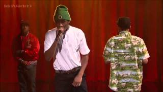 getlinkyoutube.com-Tyler, The Creator - Rusty [ Live On Letterman} With Domo And Earl