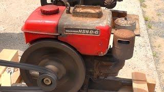 getlinkyoutube.com-Old Engines in Japan 1970s? YANMAR Diesel Type NS40-G 4hp