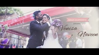 getlinkyoutube.com-Venisa & Naveen - Church Wedding, Mumbai