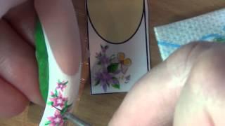 getlinkyoutube.com-художественная роспись ногтей.Nail art painting.(видео с онлайн-курса по художественной росписи)