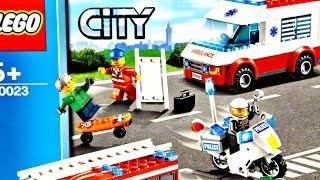 getlinkyoutube.com-Starter Pack / Zestaw Startowy 60023 - Lego City - Recenzja