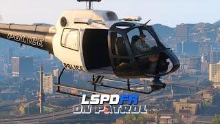 getlinkyoutube.com-LSPDFR - Day 233 - Police Helicopter Patrol