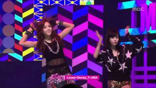 getlinkyoutube.com-T-ARA - Lovey-Dovey, 티아라 - 러비더비, Music Core 20120204