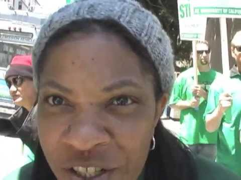 AFSCME3299/CWA-UPTE9119 UC Workers Strike At UCSF-Stop The Attacks On Patients & Workers