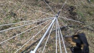getlinkyoutube.com-My Home Antenna Mast Build for Self Reliance.