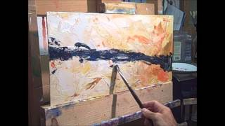 getlinkyoutube.com-Abstract oil painting technique
