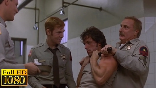 Rambo First Blood (1982) - Escape From the Police Station Scene (1080p) FULL HD