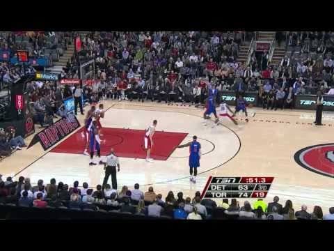 Detroit Pistons vs Toronto Raptors | March 12, 2014 | NBA 2013-14 Season