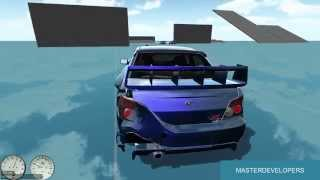 getlinkyoutube.com-Unity 3D Multiplayer Car Test