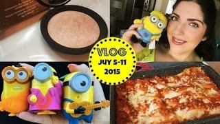 getlinkyoutube.com-Honeybee Vlog Cam: Champagne Pop, Minion Mania, Lasagna Recipe w/Mama Bee