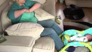getlinkyoutube.com-At Home With Breastfeeding - Second Time Mum