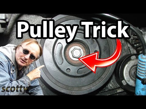 How to Remove a Crankshaft Pulley in Your Car