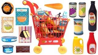 getlinkyoutube.com-Just Like Home Mega Grocery Playset Supermarket Game Juego de Supermercado Toy Food