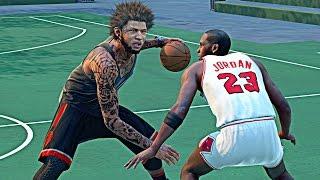 NBA 2k16 My Park - My 1st Park Game !