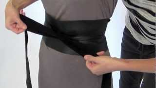 getlinkyoutube.com-How to tie a Ms. Wood Obi Belt