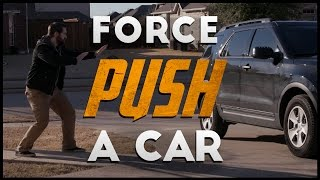 Force Push A Car