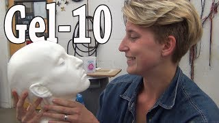 getlinkyoutube.com-Lifecasting: Gel-10 Headcast