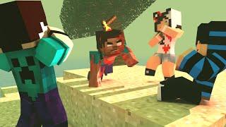 getlinkyoutube.com-Minecraft: ISOLADOS - #02 UM MORTO VIVO?