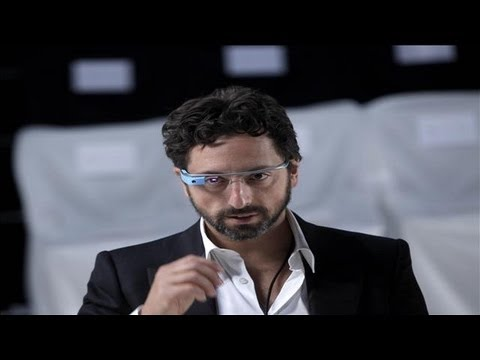 Google's Sergey Brin Previews New 'Google Glass'