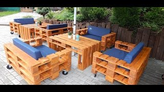 getlinkyoutube.com-Мебель из паллет - Furniture made of pallets