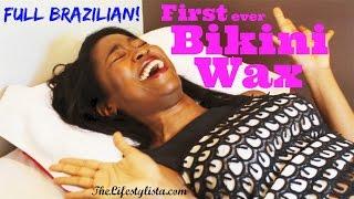 getlinkyoutube.com-My first BRAZILIAN / BIKINI WAX !!! Down there... Lawks!