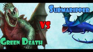 getlinkyoutube.com-Green Death vs Submaripper