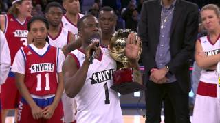 getlinkyoutube.com-Kevin Hart Accepts Sprint Celebrity Game MVP Award