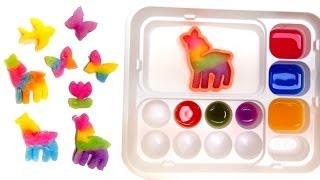 getlinkyoutube.com-Kracie Popin Cookin Oekaki Gummy Land おえかきグミランド Make Gummy Candy at Home グミランド Popin' Cookin'