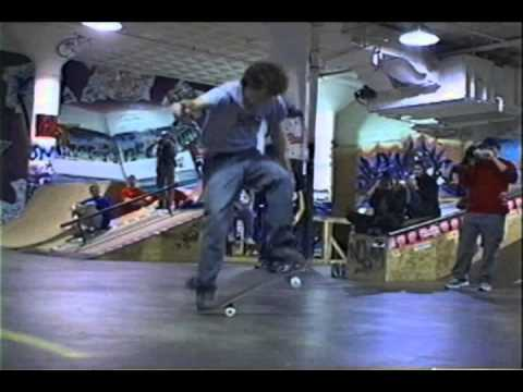 beast of the east 2001 freestyle skateboard contest