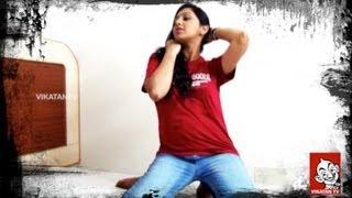 Lakshmi Menon Hot Photo shoot - Ananda Vikatan
