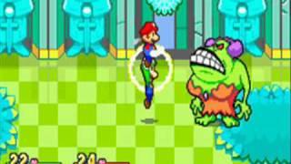 getlinkyoutube.com-Mario & Luigi: Superstar saga - Bosses (no damage ) 1/5