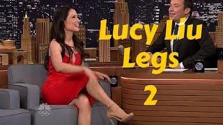 getlinkyoutube.com-Lucy Liu Legs Gorgeous in High Heels - Volume 2
