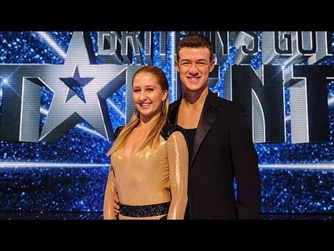 Kai and Natalia Runaway Baby ballroom dance - Britain's Got Talent 2012 Final - UK version