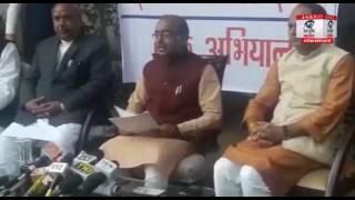 दिल्ली सरकार पर जमकर बिफरे केन्द्रीय मंत्री विजय गोयल