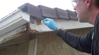 getlinkyoutube.com-DRY ROT REPAIR WITH THE WOODWIZZARDS WOOD REPAIR SYSTEM, CAPISTRANO BEACH, CA