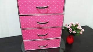 DIY : #102 Organizer From RECYCLED Shoe Boxes ♥