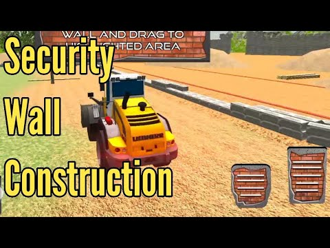 Border Security Wall Construction Android Gameplay (TwoTwenty Games)