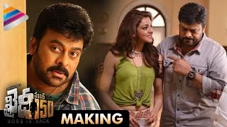 getlinkyoutube.com-Khaidi No 150 Movie Making   Chiranjeevi   Kajal Aggarwal   Ram Charan   VV Vinayak   #KhaidiNo150