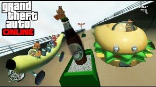 getlinkyoutube.com-GTA IV Online - LOS COCHES MAS RAROS DEL MUNDO!! XD - NexxuzHD