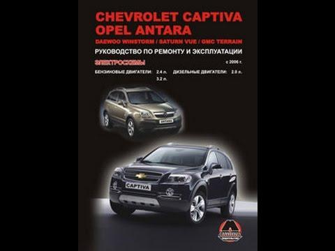 Руководство по ремонту Chevrolet Captiva/Opel Antara/Daewoo Winstorm/Saturn Vue/GMC Terrain